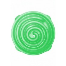 Slow Feeder Bowl Green Spiral