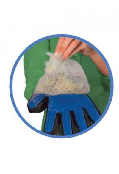 Groom & Go five finger deschedding glove